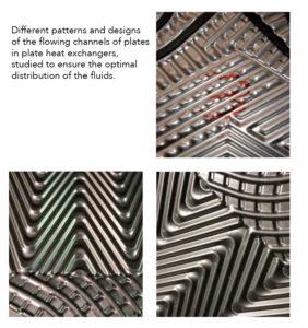 Tempco plates corrugation